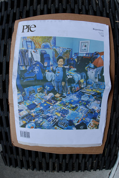 pie paper new zealand repetition art magazine