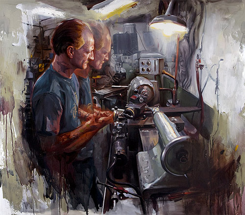 shawn barber painter artist painting