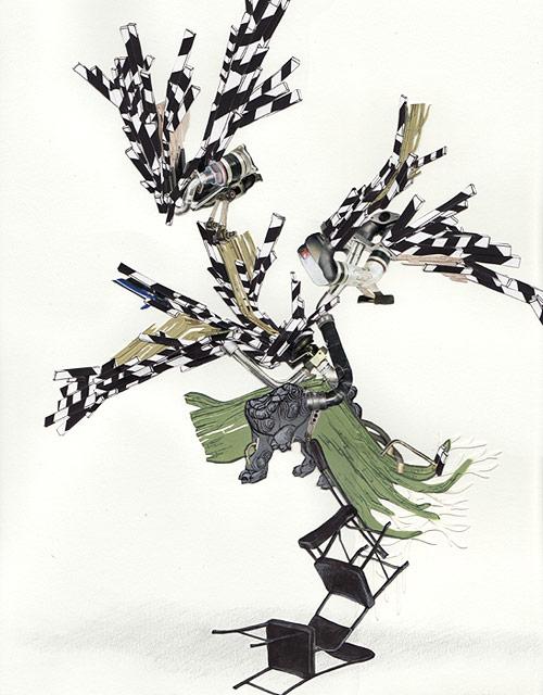 weston teruya drawing artist