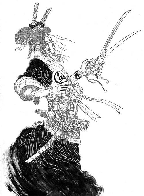 rafael grampa comic book artist illustration