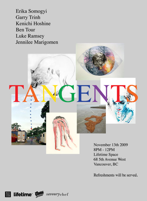 booooooom lifetime collective tangents art show vancouver