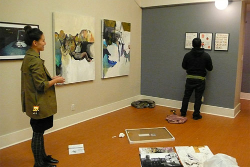 here is now exhibition vancouver pop up art show