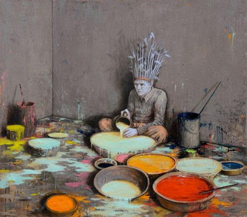 jonas burgert artist painter painting