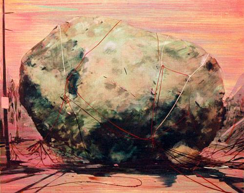 jules de balincourt artist painter painting