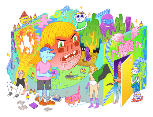 mike bertino illustration illustrator drawing
