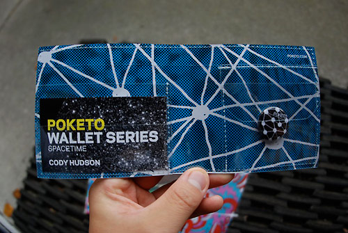 poketo spacetime kitsune noir wallets
