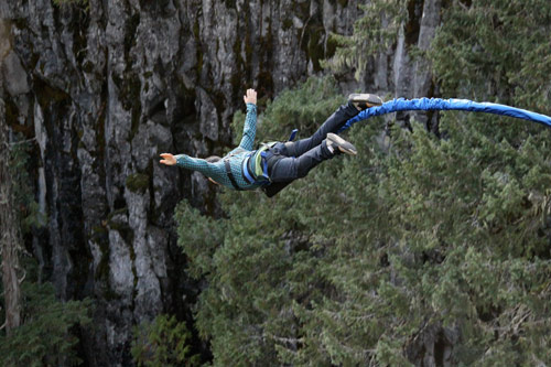 whistler bungee jumping jump british columbia