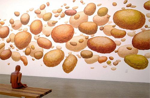 brendan monroe painting painter richard heller gallery show