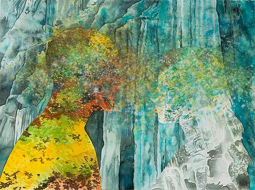 erika somogyi artist painter tangents art show