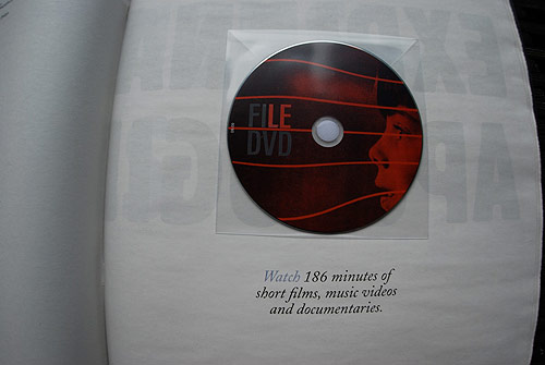 file magazine dvd bi-annual publication