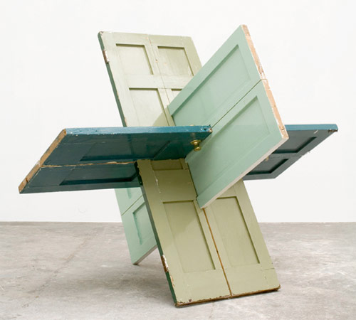 james hopkins artist sculpture interlocking doors
