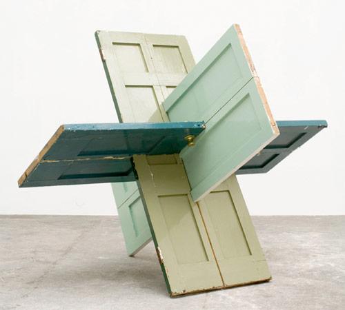 james hopkins artist sculpture interlocking doors