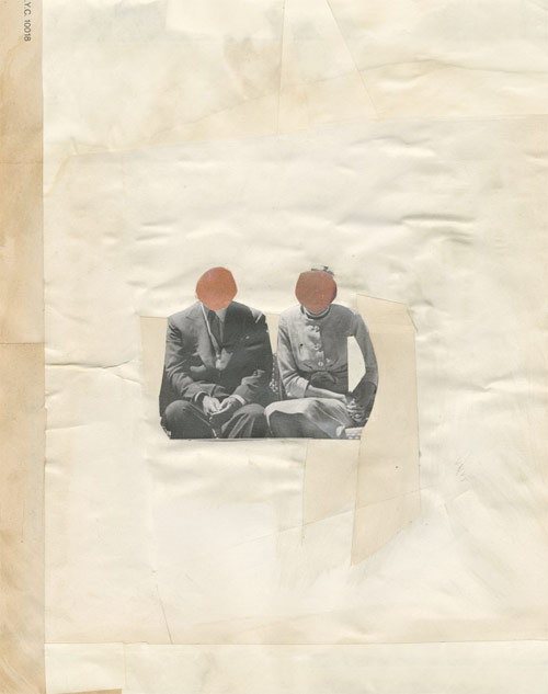 james gallagher artist collage paper