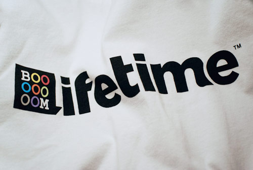 lifetime collective booooooom collaboration tshirts