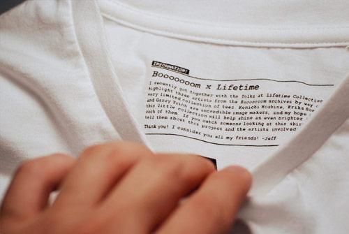 lifetime collective booooooom collaboration tshirts