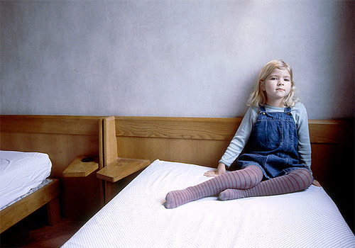 Gala Collette-Turnheim girl bed photographer photography