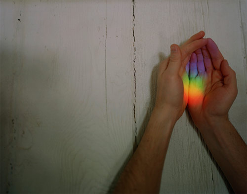 ahndraya parlato hand rainbow photographer photography