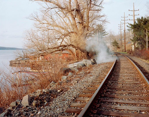 ahndraya parlato smoke train tracks tree photographer photography