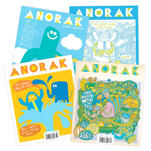 anorak magazine giveaway booooooom publication
