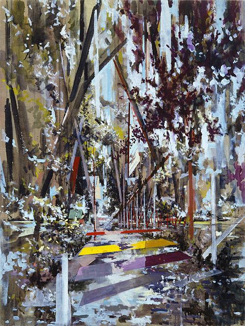 david schnell artist three painting