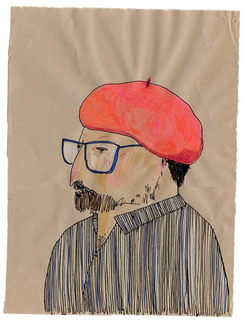 elizabeth graeber illustration illustrator baltimore beret artist