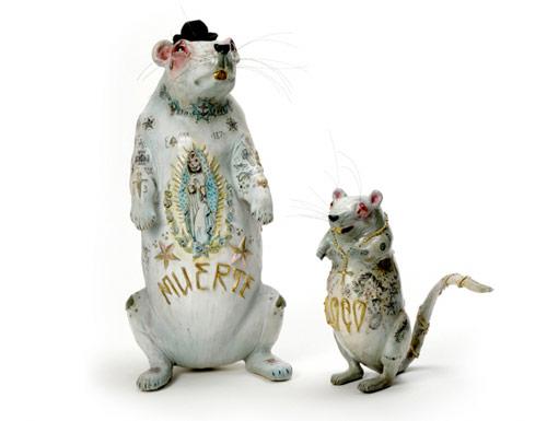 elizabeth mcgrath art sculpture rats