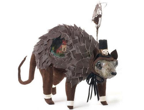 elizabeth mcgrath art sculpture possum
