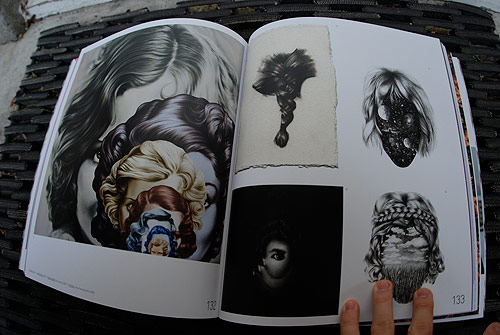 hair em scare em gestalten book publication art hairstyles illustration photography