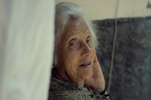 photographer Irene old lady Blázquez