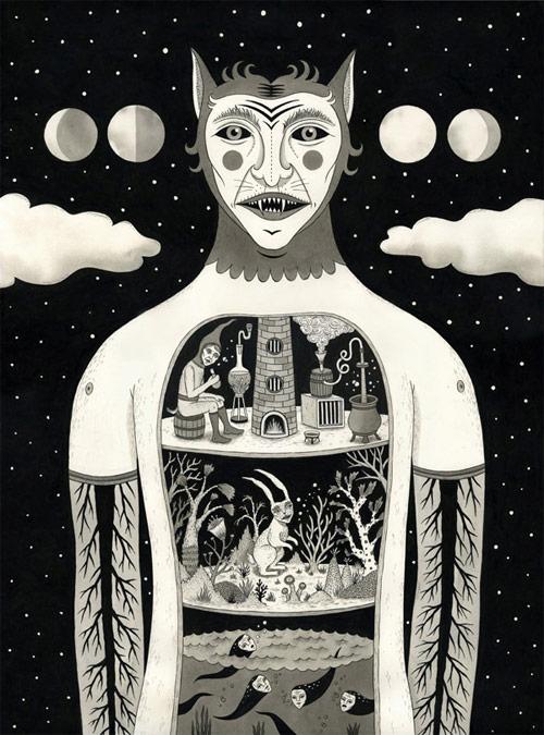 jon macnair illustrator three illustration michigan artist drawing