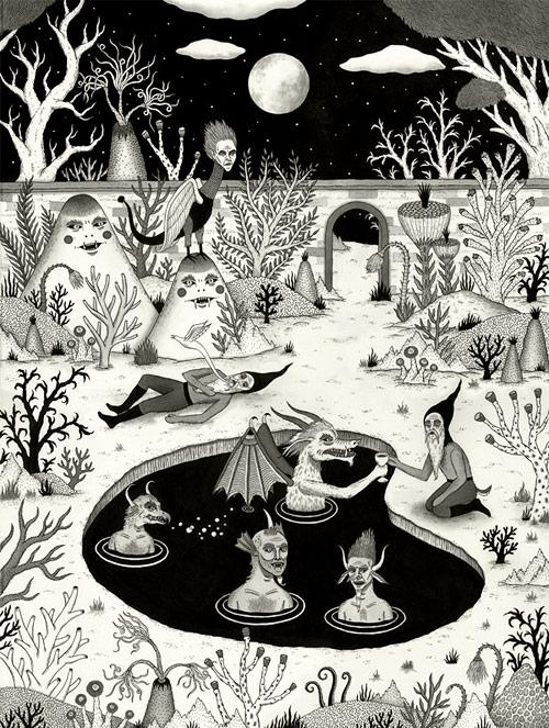 jon macnair two illustrator illustration michigan artist drawing