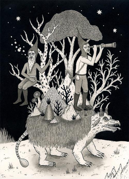 jon macnair illustrator illustration five michigan artist drawing