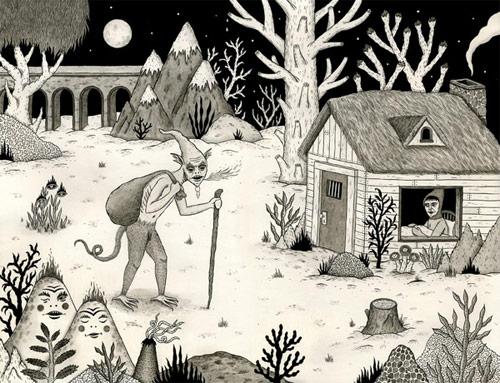 jon macnair illustrator illustration six michigan artist drawing