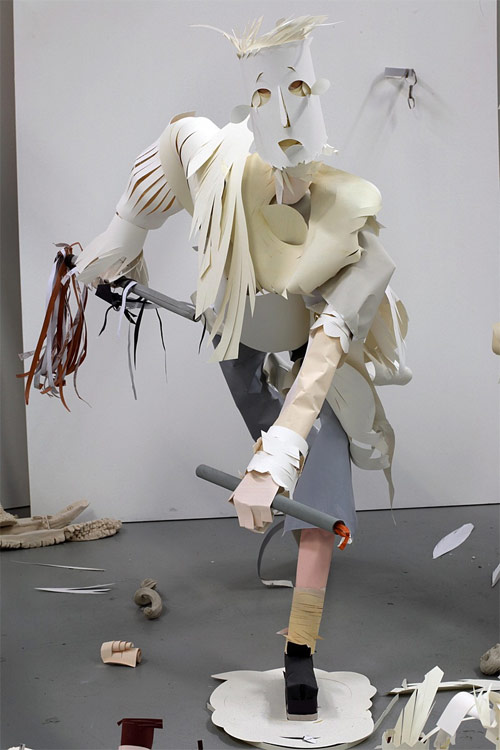 karen sargsyan artist paper sculpture