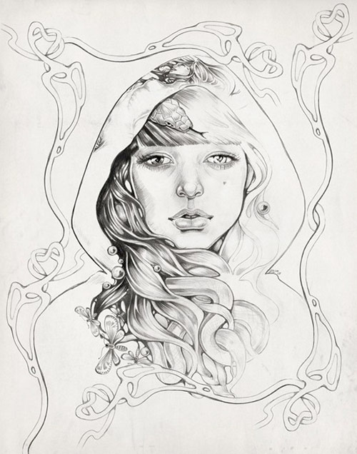 illustrator martine johanna illustration drawing