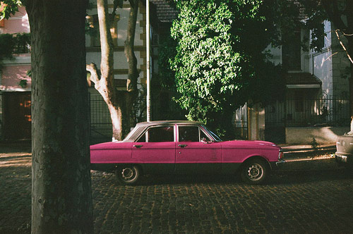nicolas dodi pink car photographer photography