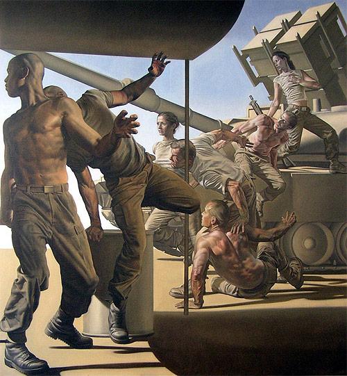 nicola verlato artist army painter painting