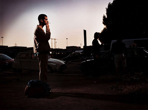 nigel bennett man smoking photographer photography