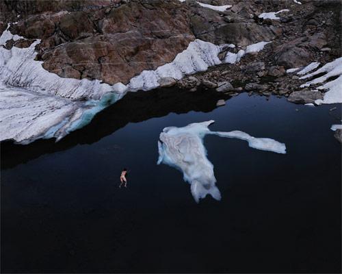 ruben brulat ice glacier snow nude portrait photographer photography