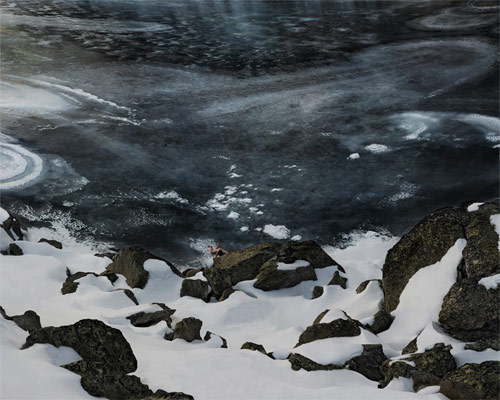 ruben brulat nude ice rock glacier portrait photographer photography