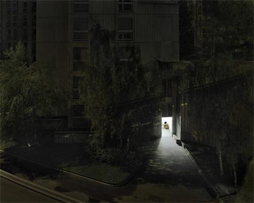 ruben brulat nude portrait building public night photographer photography