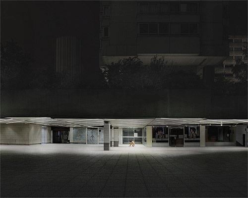 ruben brulat nude portrait urban night building photographer photography