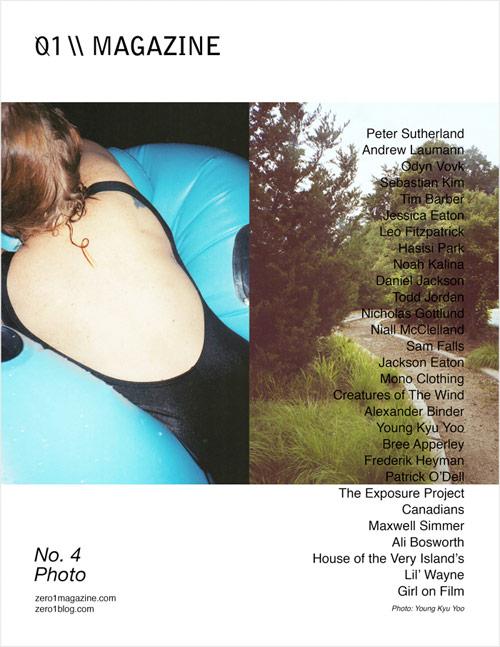 zero 1 magazine photography fashion books art publication