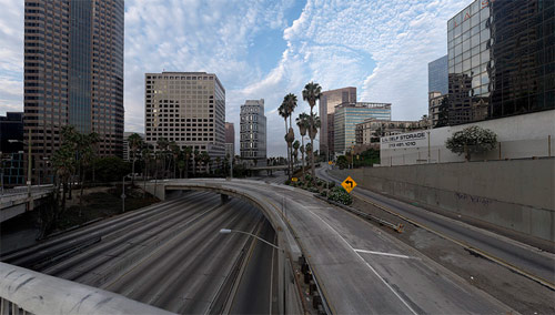 empty la photographer photography matt logue