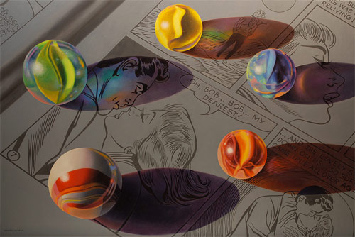 glennray tutor one photorealist photorealism artist painter painting