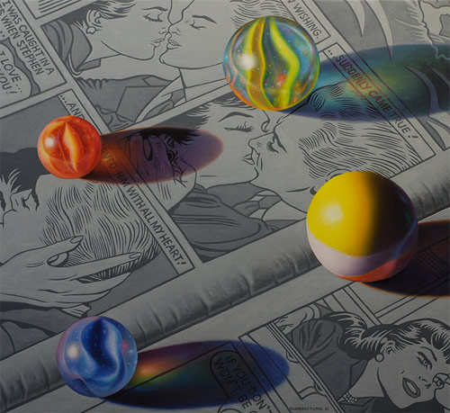 glennray tutor four photorealist painter painting