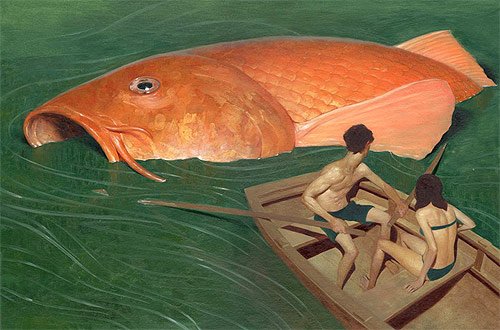 jeremy enecio artist big fish boat illustration illustrator