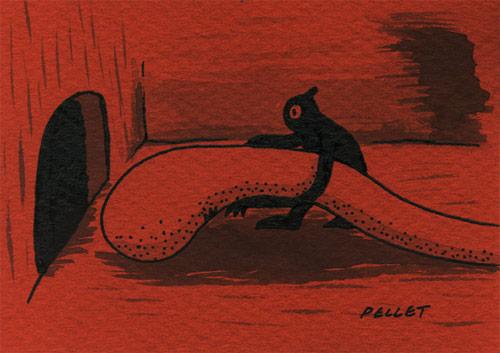 kyle pellet factory art illustration drawing illustrator