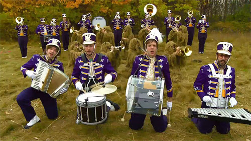 ok go this too shall pass music video directed by brian l perkins one take
