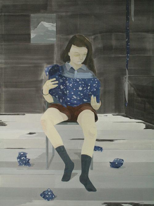 juka araikawa japan artist painter painting